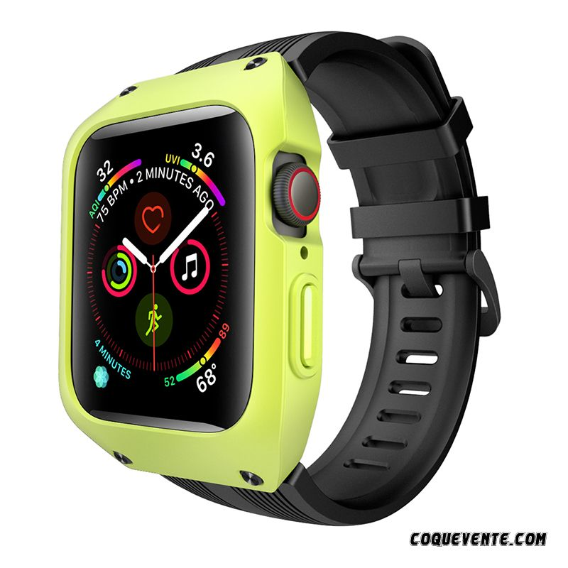 Coque Apple Watch Series 1, Meilleur Étui Apple Watch Series 1, Site Coques Jaune Vert