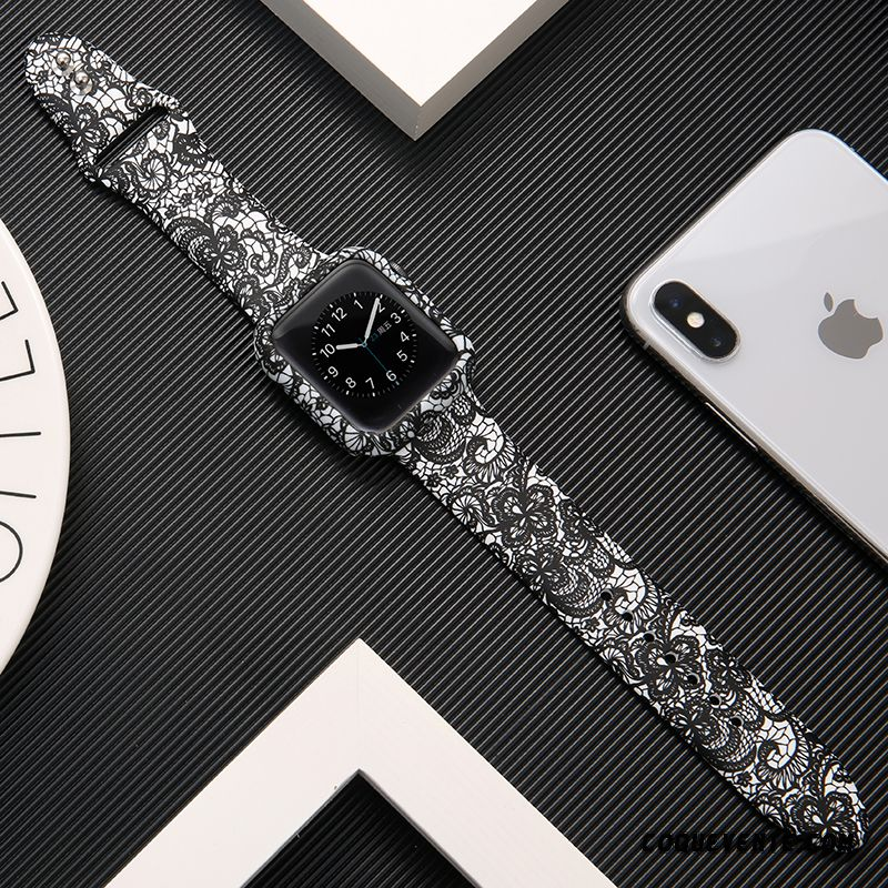Coque Apple Watch Series 1, Protection Telephone Apple Watch Series 1, Coques Téléphone Saumon