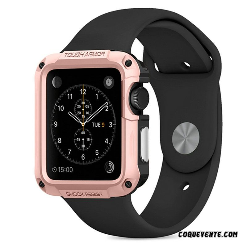Coque Apple Watch Series 2, Coque Apple Watch Series 2 Souple, Coque Boutique Brun