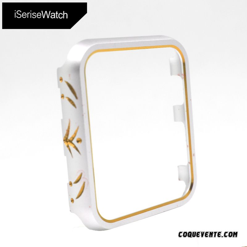 Coque Apple Watch Series 2, Coque Silicone Apple Watch Series 2, Boutique Coque Argent