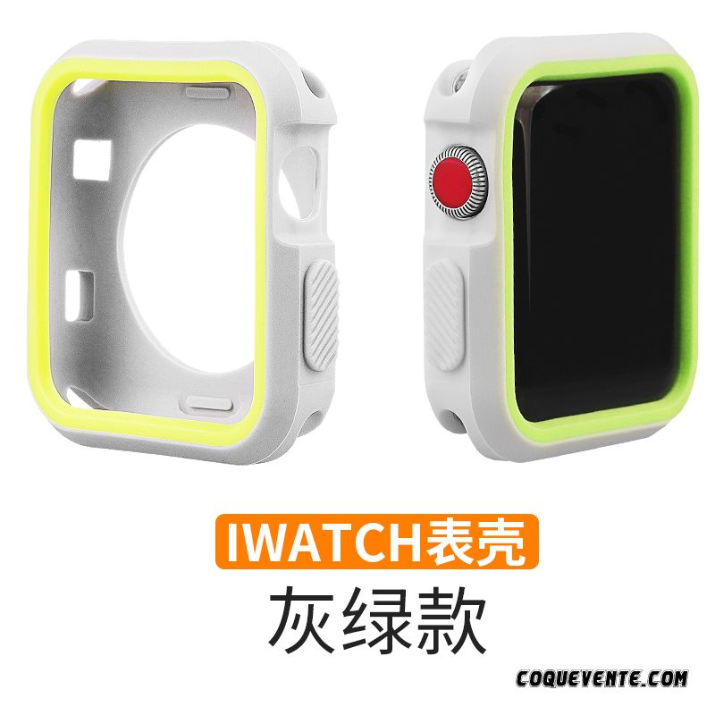 Coque Apple Watch Series 3 Transparente, Coque Apple Watch Series 3, Coques Téléphones Bisque