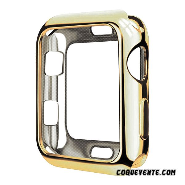 Coque Apple Watch Series 4, Apple Watch Series 4 Coque Personnalisé, Etui Coque Strass Lawngreen