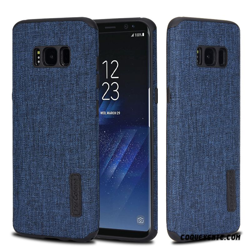 Coque Galaxy S8, Housse Portables Pas Chers Or, Coque Samsung Galaxy S8 Blanc