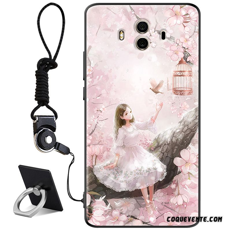Coque Huawei Mate 10, Housse Portable Pas Chers Rose, Coques Huawei Mate 10