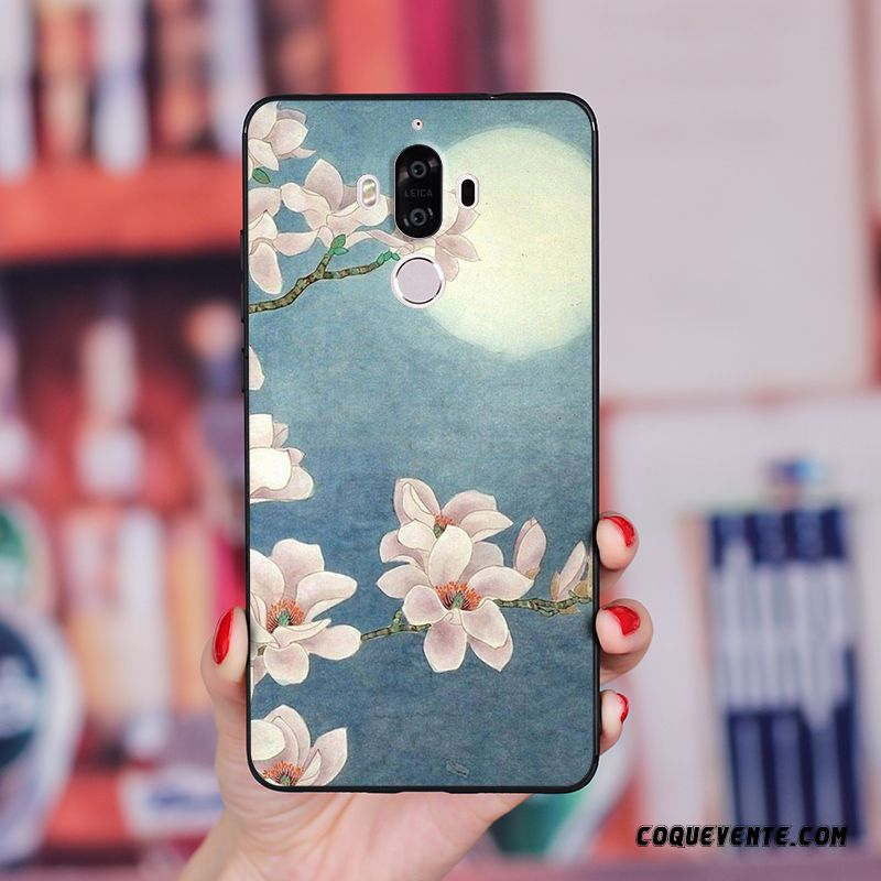 Coque Huawei Mate 10 Pro, Coque Personnalisable Rose, Coque Souple Huawei Mate 10 Pro