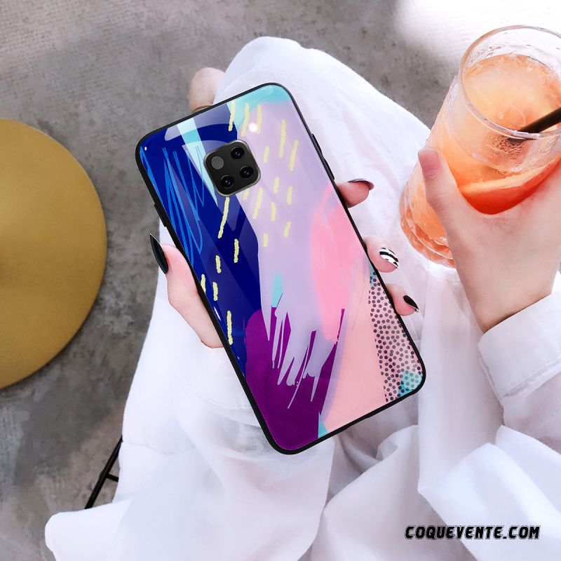 Coque Huawei Mate 20 Pro, Protection Telephone Huawei Mate 20 Pro, Mobiles Pas Chers Aigue-marine