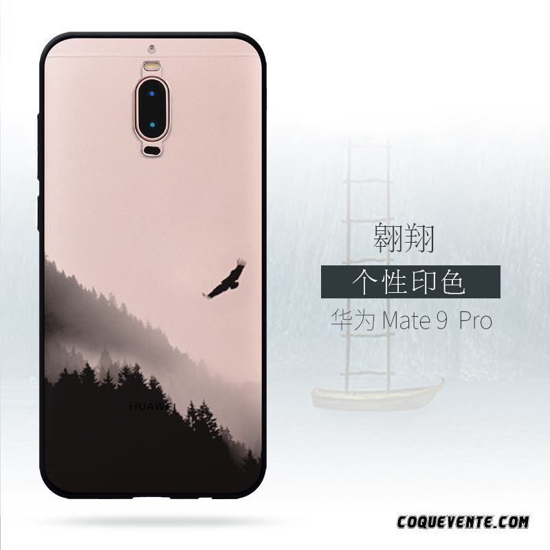 Coque huawei mate 9 pro pas cher housse achat coque brun for Housse huawei mate 9