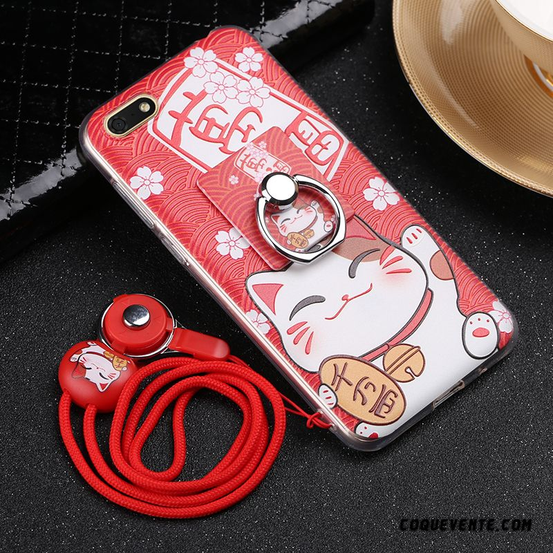 Coque Huawei Y5 2018, Coque Pas Cher Pour Huawei, Housse Coques Portables Chocolat