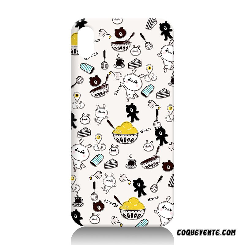 Coque Iphone X, Housse Coque Portable Chocolat, Apple Iphone X Etui