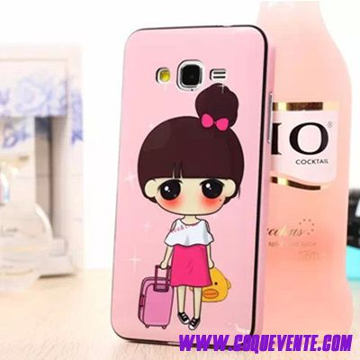 Coque Pour Galaxy Grand Prime, coque etui samsung galaxy grand prime, etui coque ordinateur portable rose