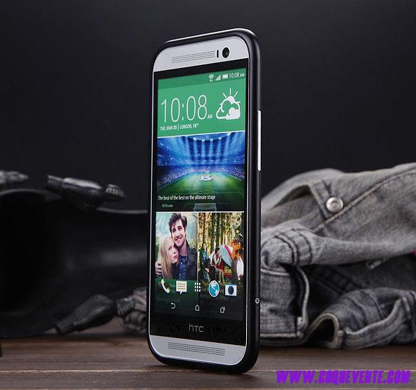 Coque Pour HTC One M8, coque telephone htc one m8, achat coque noir