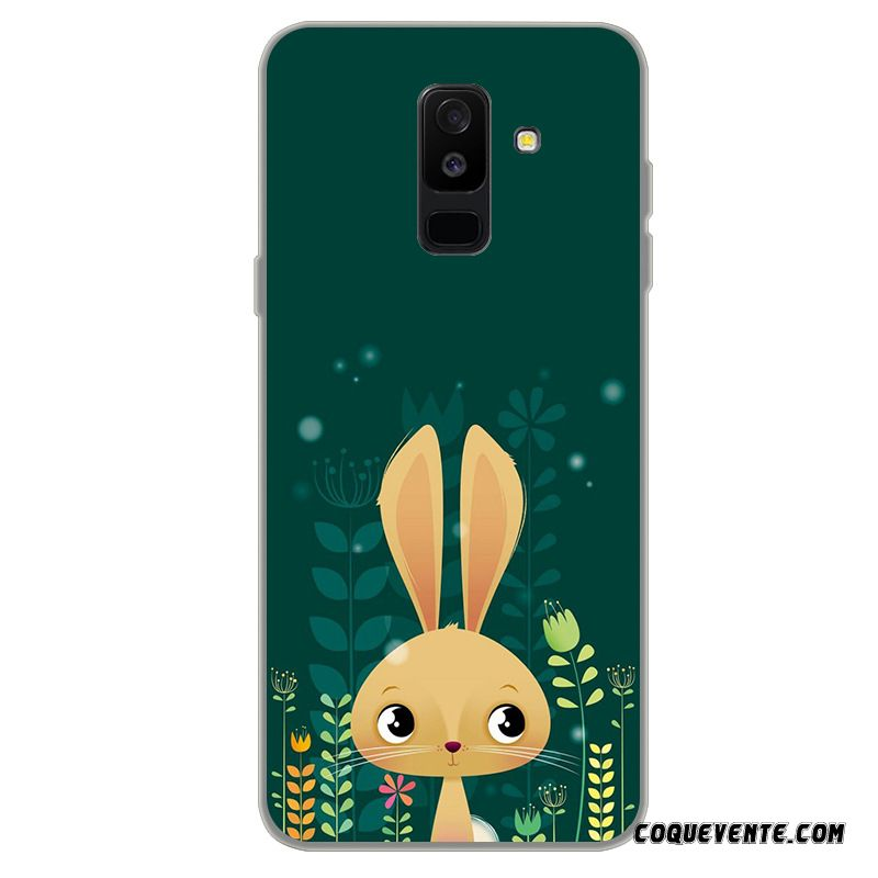 Coque Samsung Galaxy A6+, Housse Coques Mobiles Argent, Etui Protection Samsung Galaxy A6+