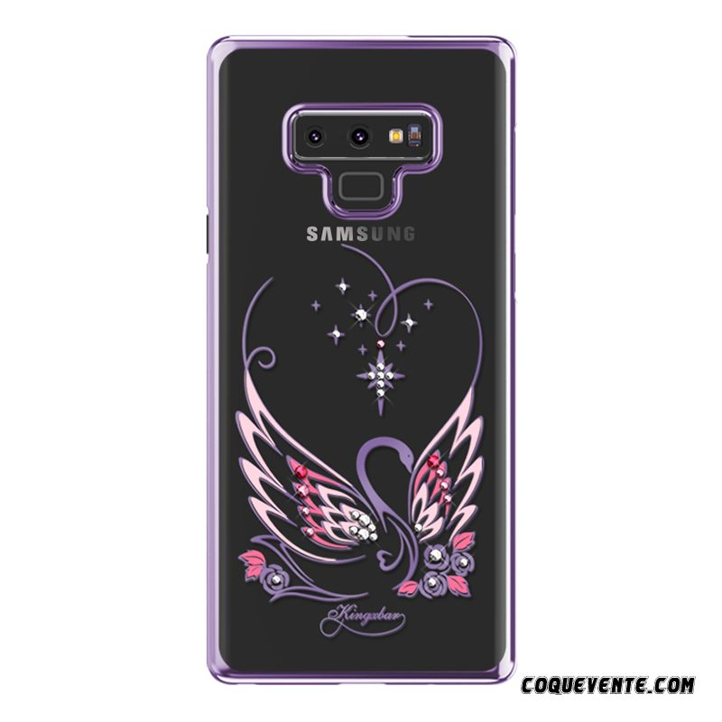Coque Samsung Galaxy Note 9, Coque Protection Pour Samsung Galaxy Note 9, Etui Téléphone Mobile Pas Cher Blanc