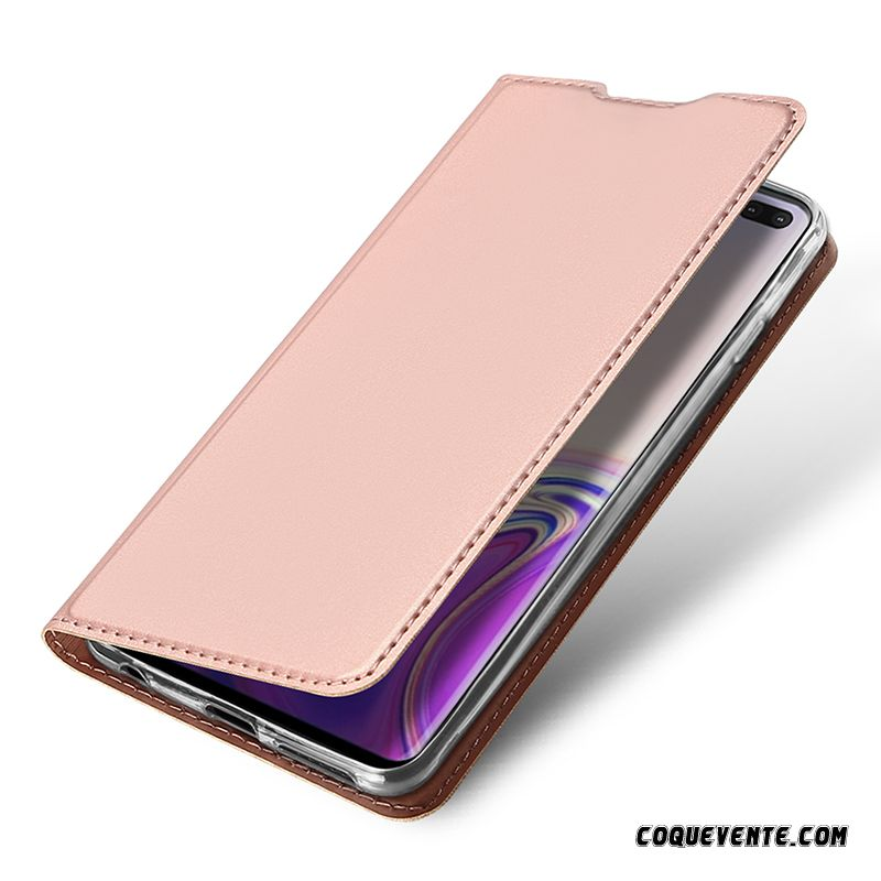 Coque Samsung Galaxy S10, Etui Mobile Samsung Galaxy S10, Housse Boutique De Coque Kaki