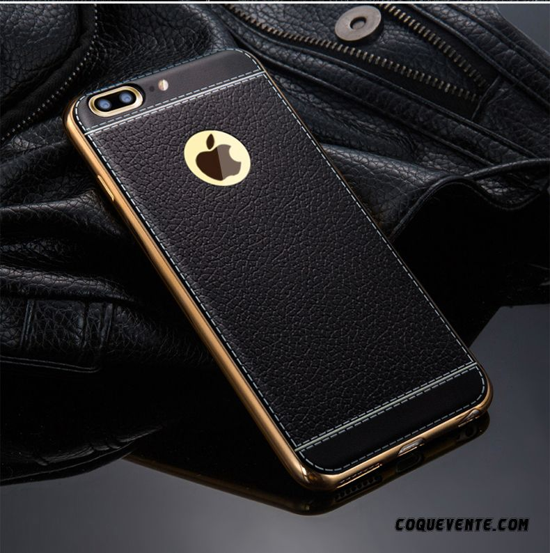 coque iphone 7 or noir