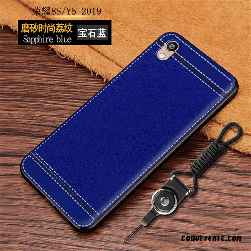 Housse Telephone Huawei, Coque Huawei Y5 2019 Pas Cher, Etui Coques Personnalisable Vert D'eau