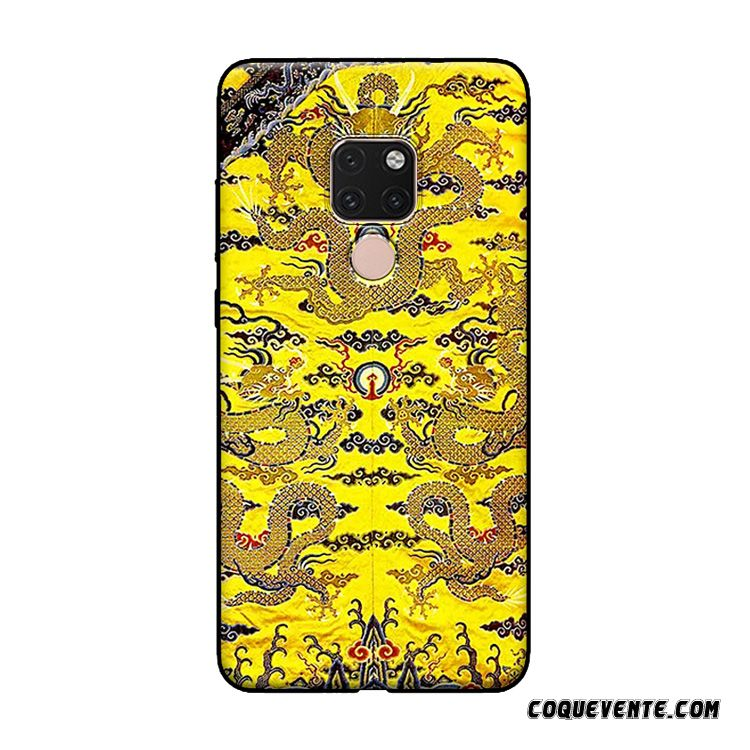 Housse Telephone Huawei Mate 20 X, Housse Achat Coque Saumon, Coque Huawei Mate 20 X