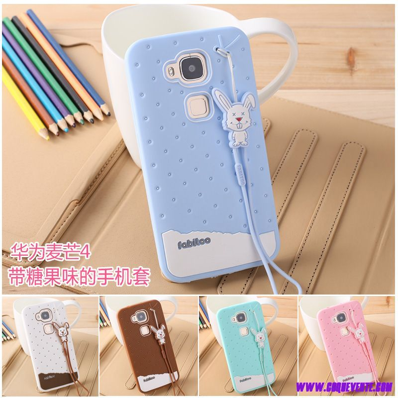 coque silicone huawei g8