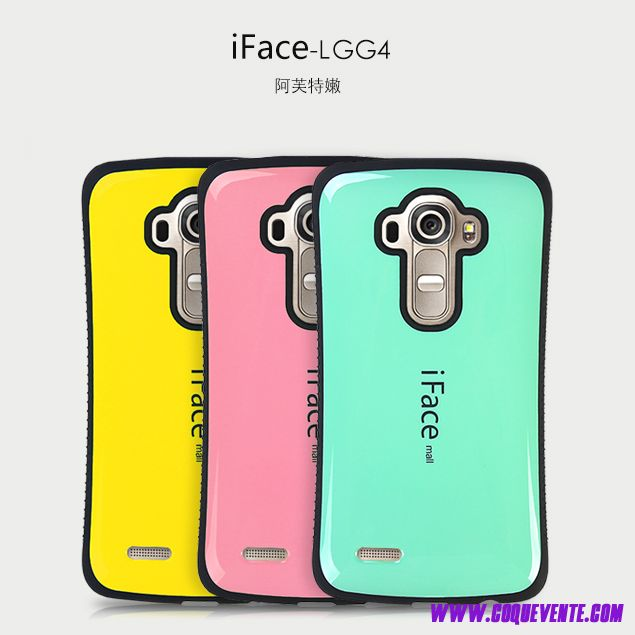 LG G4 housse de protection simple etui de portable couleur en silicone