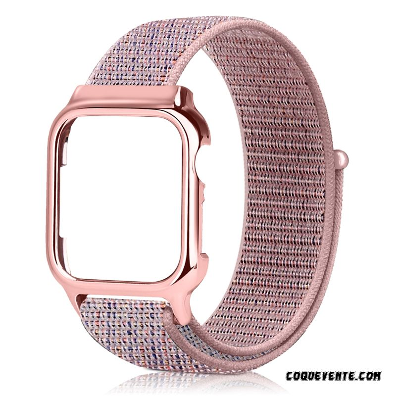 Protection Cuir Apple Watch Series 1, Coque Apple Watch Series 1, Housse Coques Mobiles Saumon