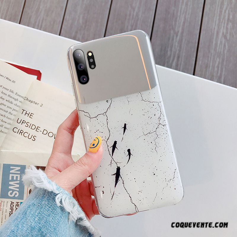Samsung Galaxy Note 10+ Cover, Coques Telephone Personnalisée Corail, Coque Samsung Galaxy Note 10+