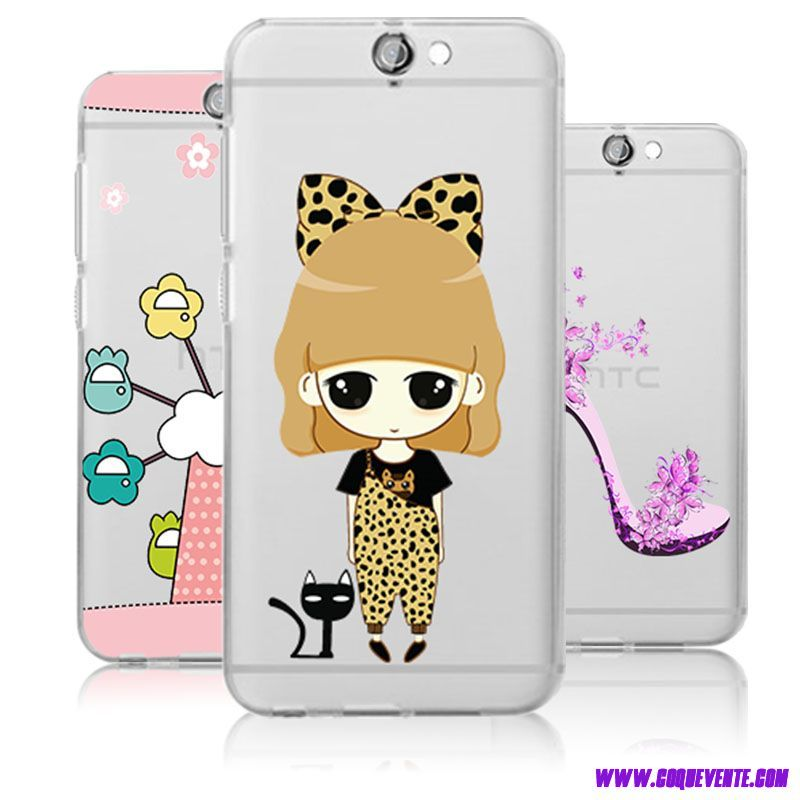 Transparent Etui pour HTC One A9 coque comics protection silicone