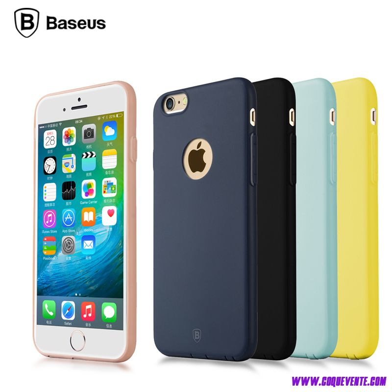 iphone 6s t l phone housse en silicone matte color coque. Black Bedroom Furniture Sets. Home Design Ideas